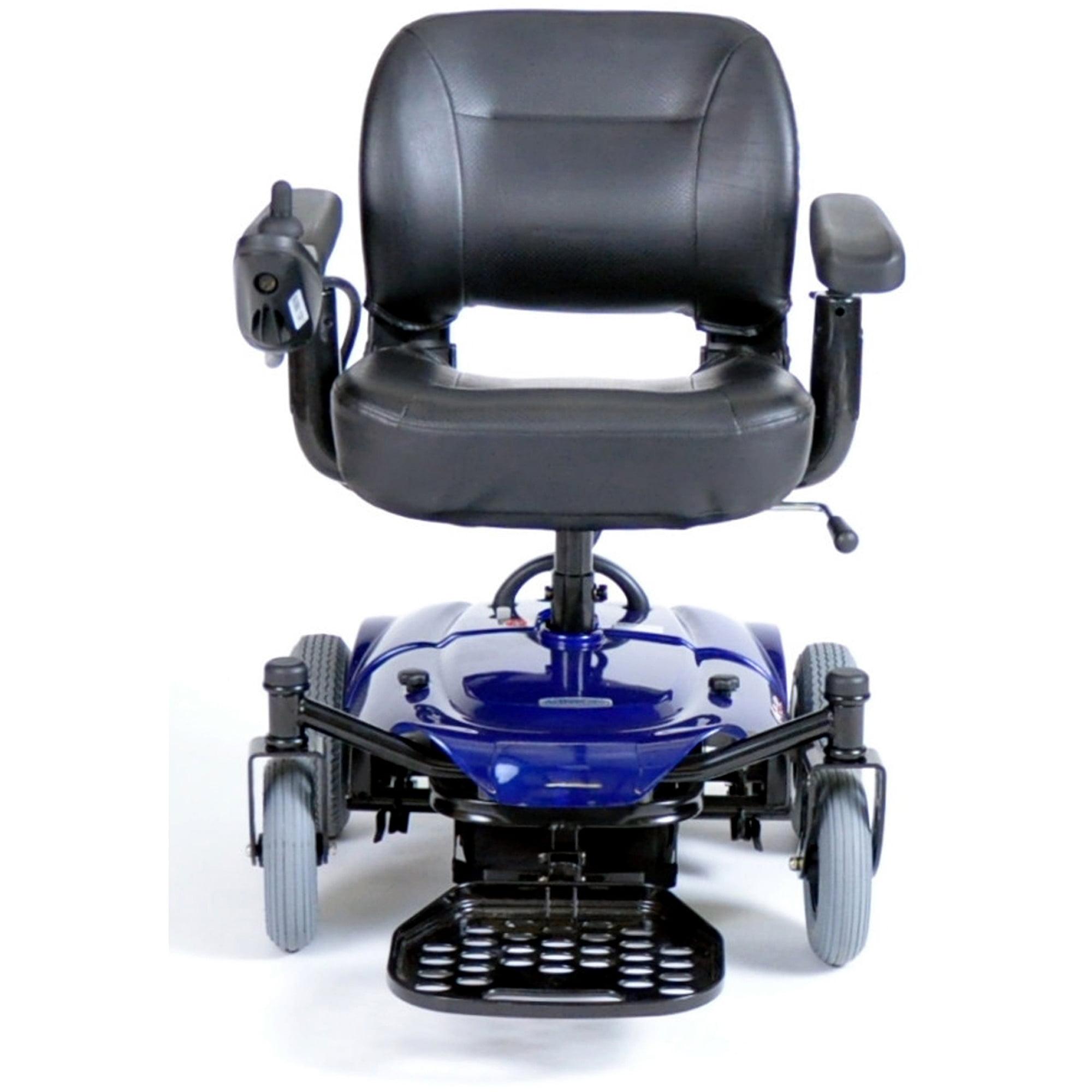 Drive Medical Cobalt Travel Power Wheelchair Blue Walmart