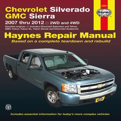 Chevrolet Silverado & GMC Sierra : 2007 Thru 2012 2wd and 4WD