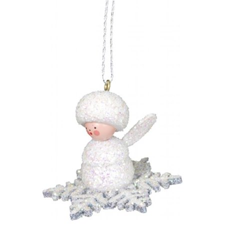 ULBR 10-0381 Christian Ulbricht Ornament - Angel on Snowflake - image 1 de 1