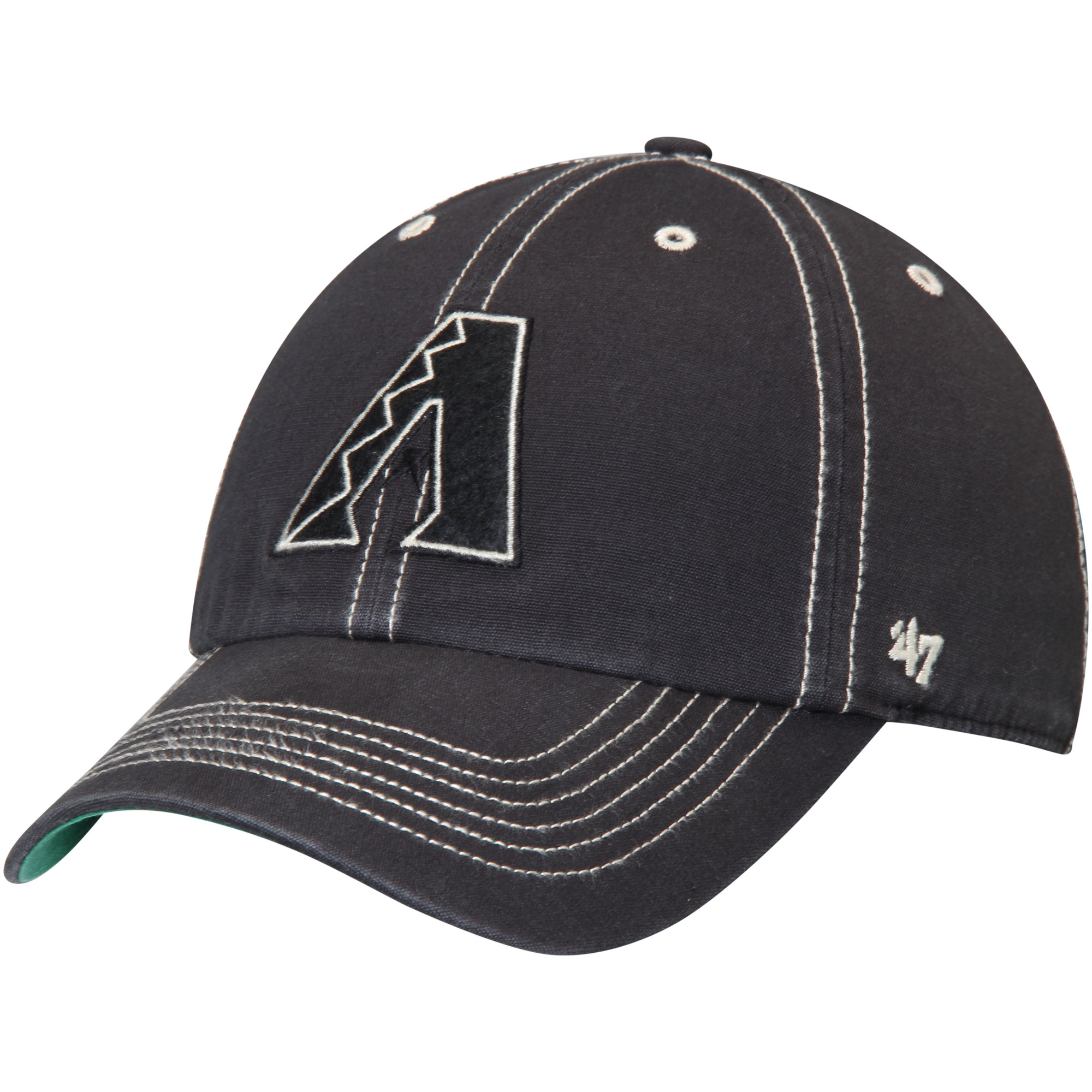 Arizona Diamondbacks '47 Groveland Franchise Fitted Hat - Black