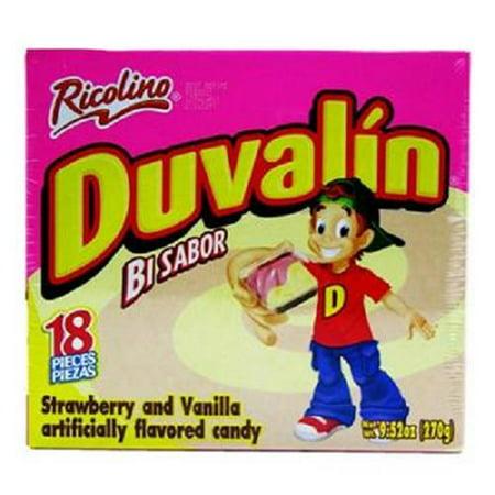 Product Of Duvalin, Strawberry Vanilla, Count 18 - Sugar Candy / Grab Varieties & -