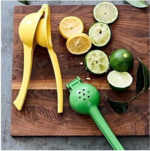 Aluminium Gourmet Green Lemon/Lime Squeezer Hand Held Press