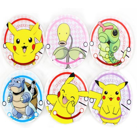 12 Pokemon Erasers For Birthday Party Favors Gift