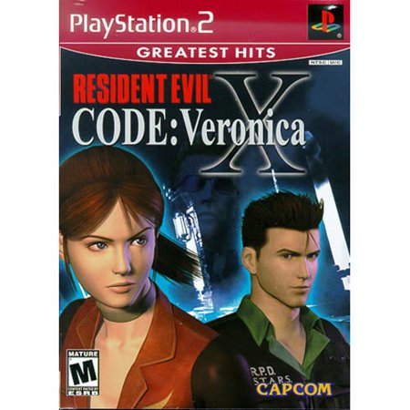 Resident Evil  Code Veronica X   Playstation 2