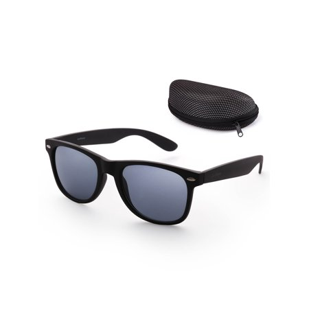 Sunglasses for Women Men with Free Case,54mm Lens,UV 400 Protection
