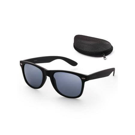 Sunglasses for Women Men with Free Case,54mm Lens,UV 400 Protection (Wayfarer Sunglasses Bulk)