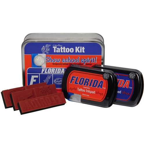 Florida Gators Colorbox Tattoo Kit by Clear Snap