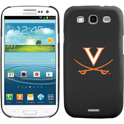 University of Virginia Swords Orange Design on Samsung Galaxy S3 Thinshield Case by Coveroo