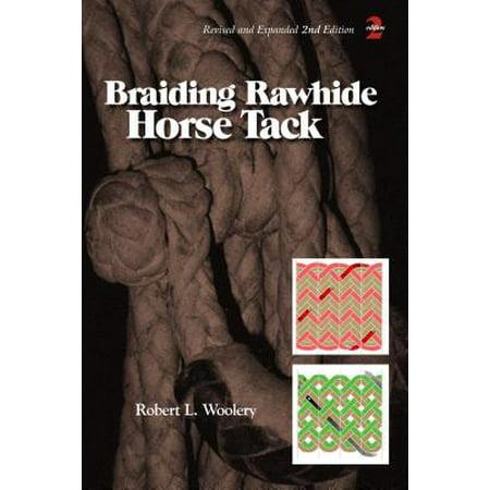 Braiding Rawhide Horse Tack -