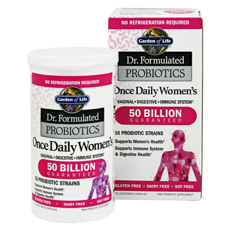 Garden Of Life Dr Formulated Probiotics Once Daily Women 39 S 50 Billion 30 Vegetarian