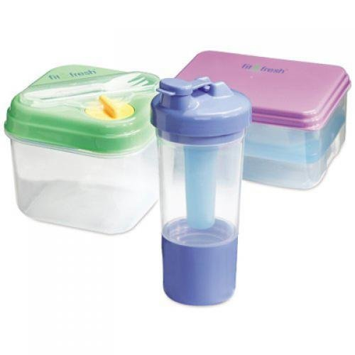 Fit and Fresh Smart Portion 2 Cup Chill Container 1 Set