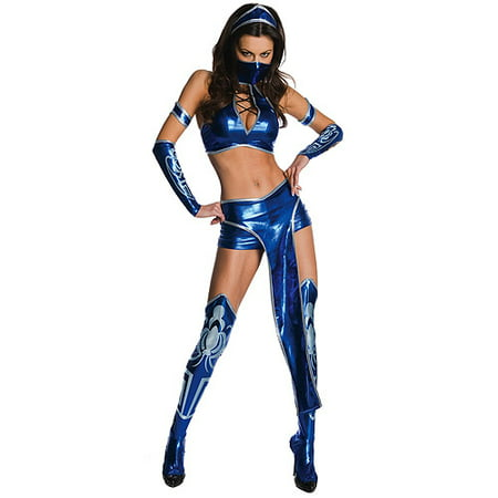 Mortal Kombat Kitana Adult Halloween Costume - Mortal Kombat Halloween Costumes