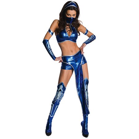 Mortal Kombat Kitana Adult Halloween Costume - Mortal Kombat 9 Costumes
