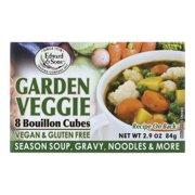Edward & Sons Bouillon Cubes Garden Veggie, 2.9 OZ