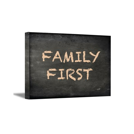 Awkward Styles Family First Wall Decor Cute Chalkboard Art Home Gifts Quotes Living Room Bedroom Blackboard Retro