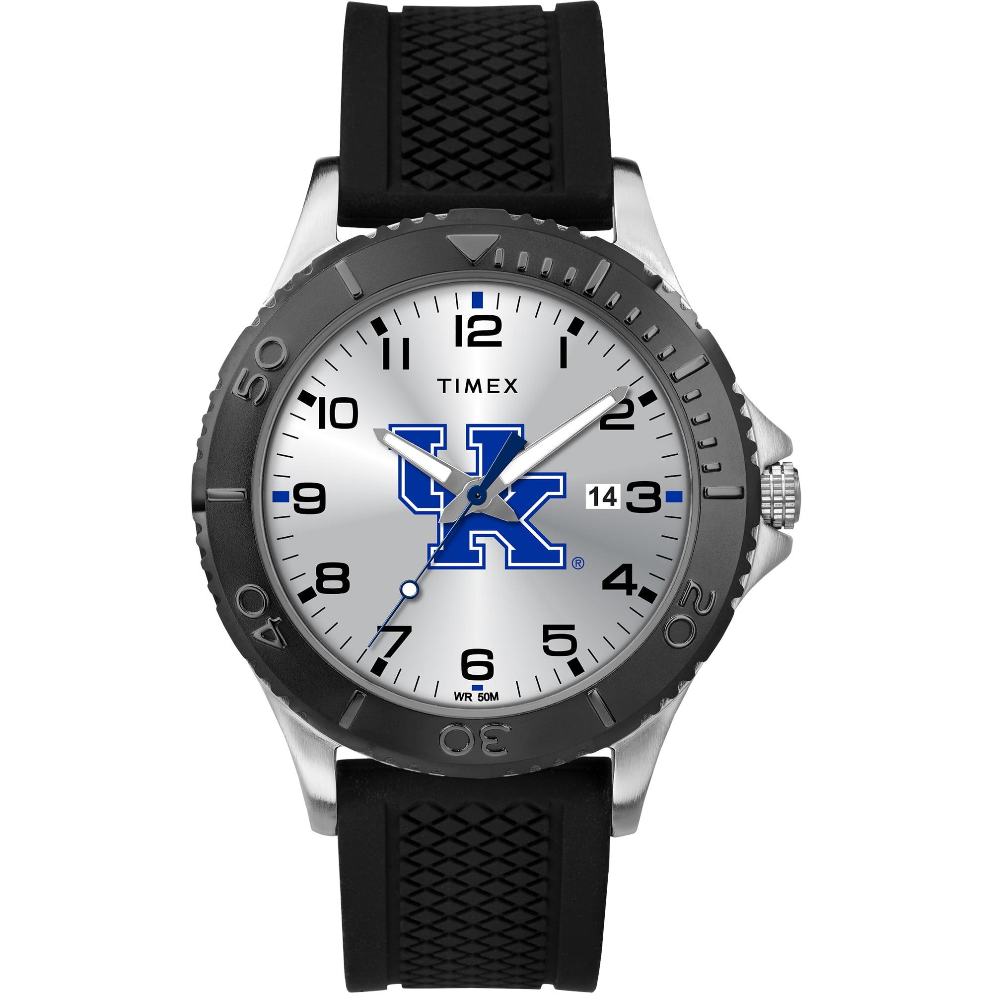 Timex - NCAA Tribute Collection Gamer Black Men's Watch, University of Kentucky Wildcats