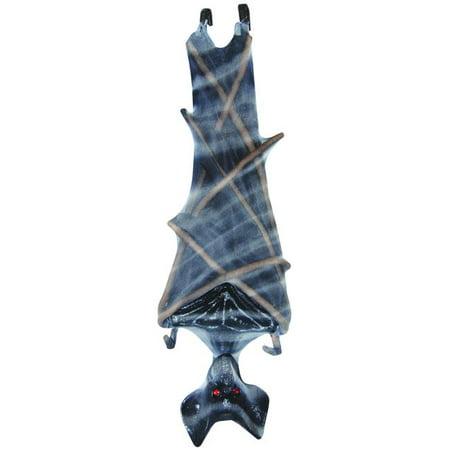 Upside Down Mesh Bat Gray - Halloween Upside Down Bats