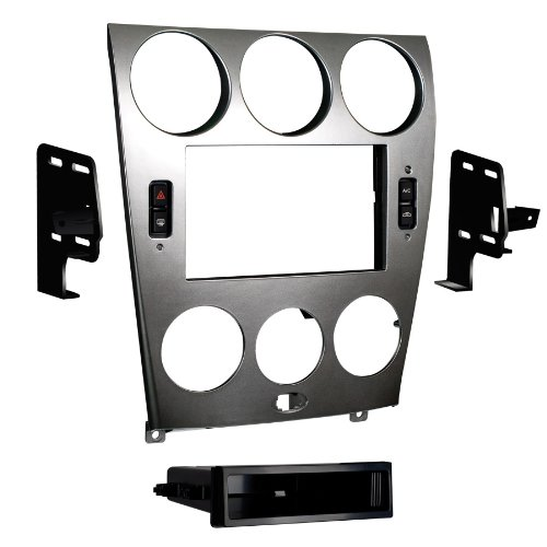 Metra 99-7523S 2003-2005 Mazda 6 Double and ISO DIN Radio Install Kit by Metra