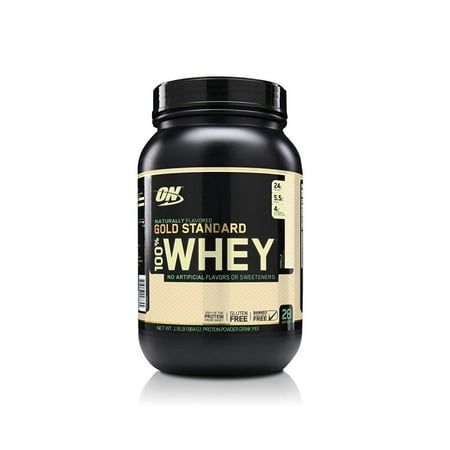 Optimum Nutrition Gold Standard 100% Whey Protein Powder, Naturally Flavored Vanilla, 24g Protein, 1.9 (Cellucor Whey Best Flavor)
