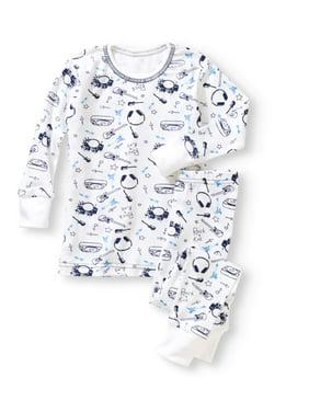 a14c883b Product Image Baby Steps Newborn baby boy long sleeve 2-piece pajama set