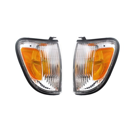 NEW SET OF 2 SIDE MARKER LIGHTS FITS TOYOTA TACOMA SR5 1998 1999 2000 TO2521154 8161004060 81610-04060 81620-04060 8162004060 1999 2000 Toyota Tacoma Engine