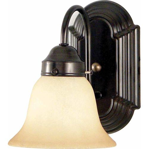 Volume Lighting V6371 Minster Wall Sconce with 1 Light and Sandstone Glass