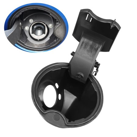 Fuel Filler Neck Housing Gas Door for 09-14 Ford F150, Replacement Part Best for 09-14 Ford F150 Tank Hinge Pocket Assembly Doors Spring Cap Lid Cover, Truck Accessories Replaces 9L3Z9927936B F150 Fuel Door