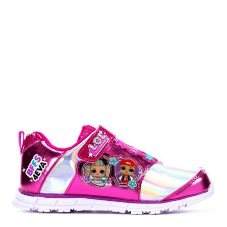L.O.L. Surprise! Queen Bee M.C. Diva and Rocker Light-up Athletic Sneaker (Toddler & Little Girls)