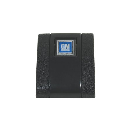 - Eckler's Premier  Products 55192350 El Camino Seat Belt Buckle Cover Assembly Standard With GM Logo