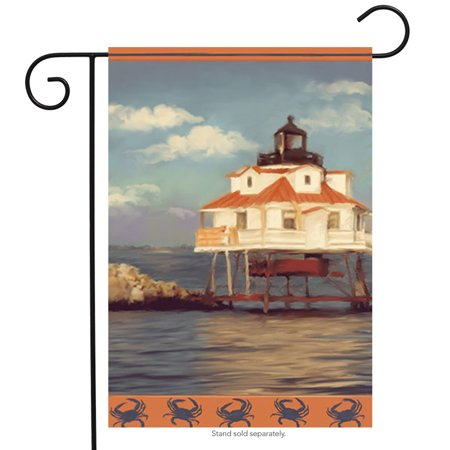 Thomas Point Lighthouse Summer Garden Flag Beach Decorative Banner - Thomas Tews Flag