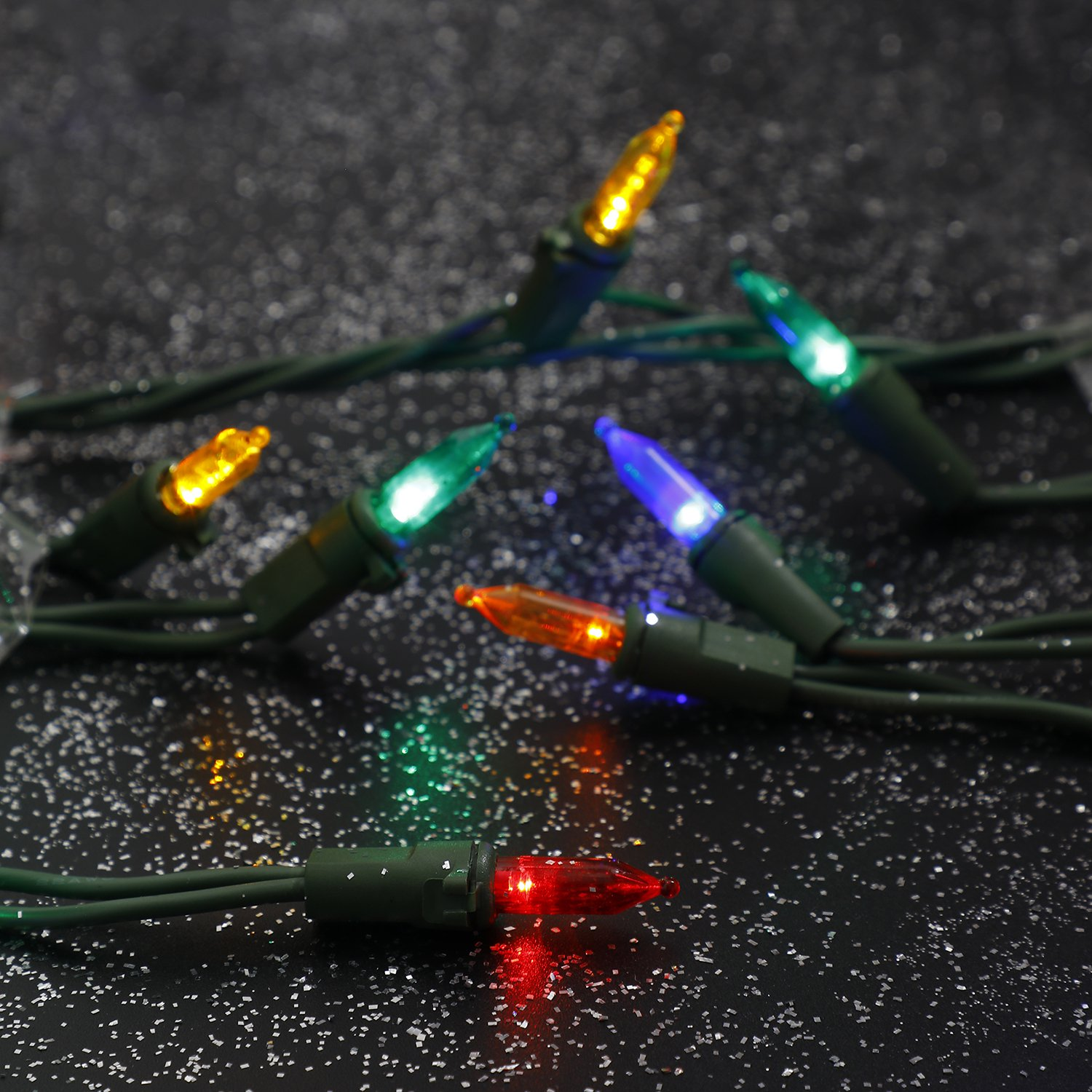 Home Heritage Multi-Color LED 300 Count Indoor/Outdoor Christmas Lights- 100 ft