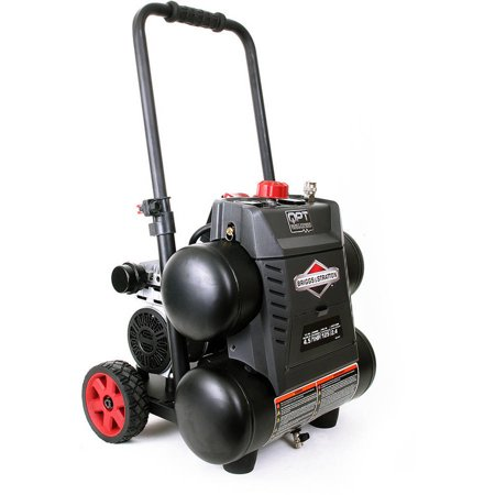 Briggs and Stratton, 3320441, 4.5-Gallon 125 PSI Air Compressor with Quiet Power Technology