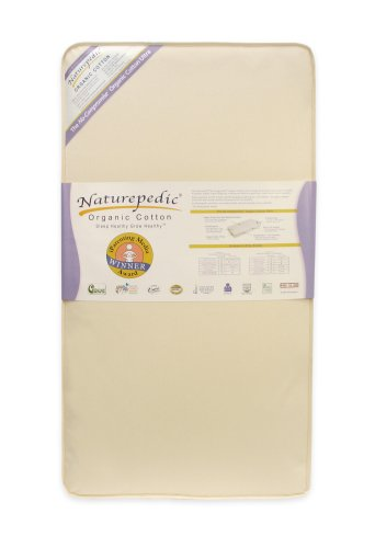 Naturepedic No Compromise Organic Cotton Ultra 252 Crib Mattress by Naturepedic