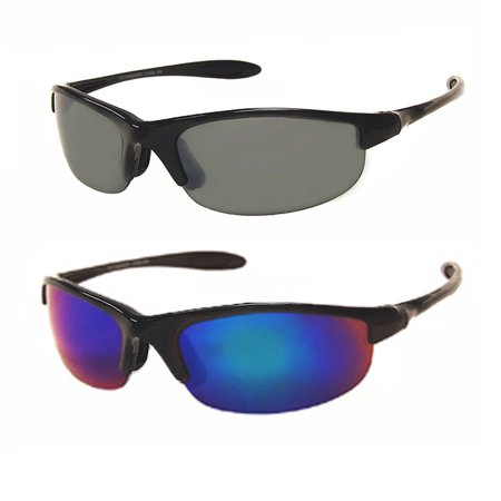 Sports Sunglasses Cycling Glasses UV400 Men Bike Driving Lens Outdoor Sun Goggle ()
