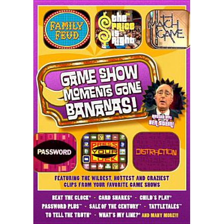 Game Show Moments Gone Bananas - Most Outrageous Moments Tv Show