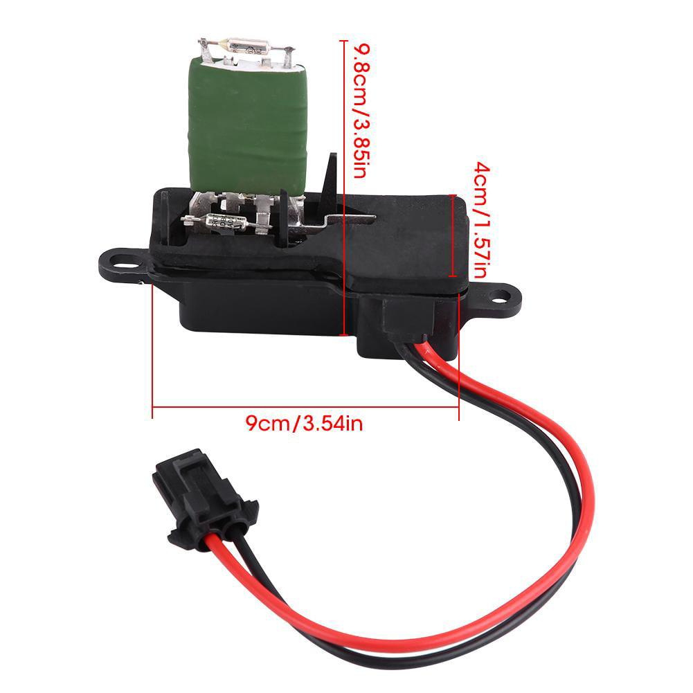 Front Blower Motor Resistor Kit For 1996-2012 Chevrolet Express 1500 2500 3500