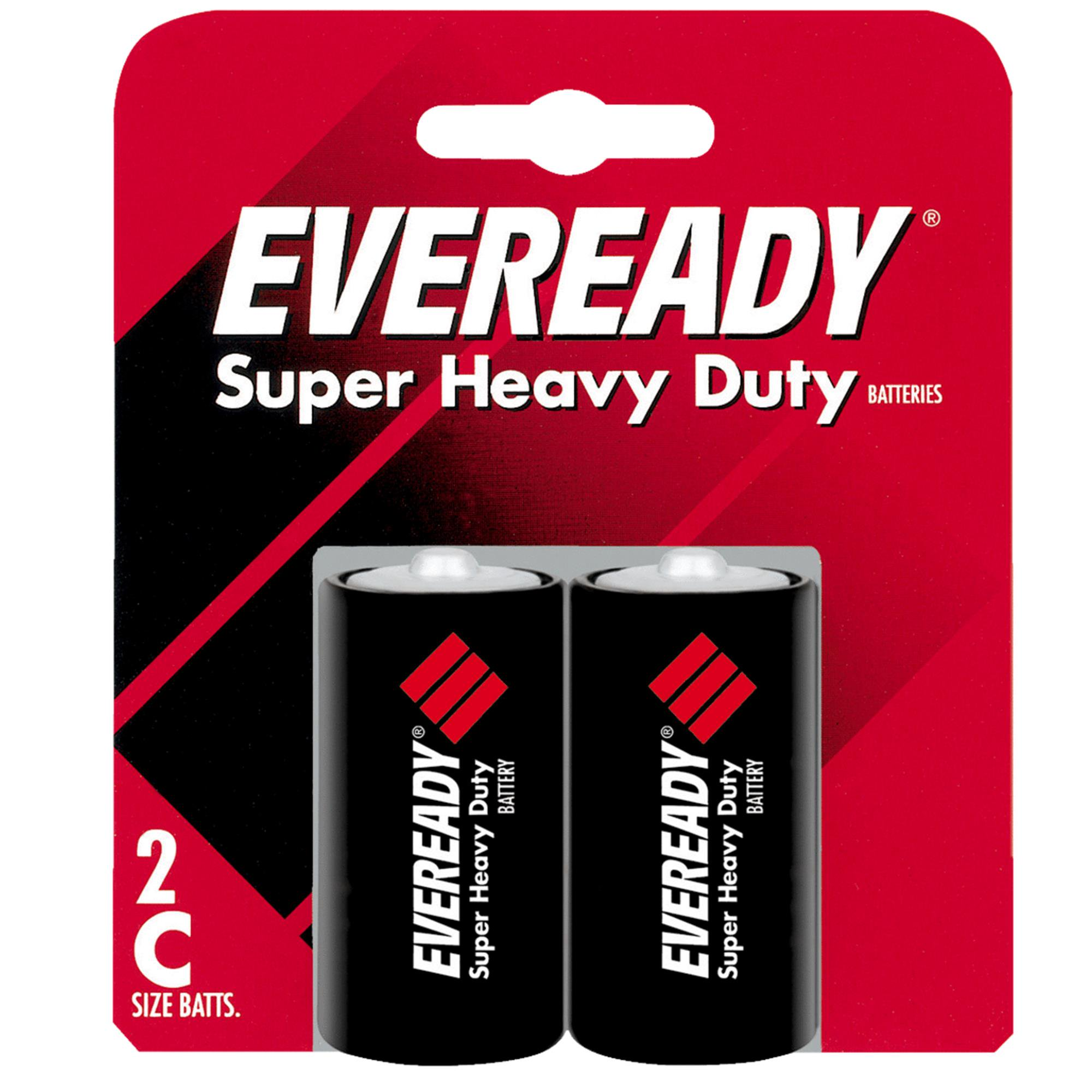 Eveready Super Heavy Duty C Carbon Zinc Battery