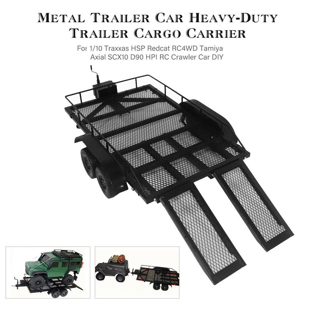 RC Custom Metal Frame License Plate for 1:10 Tamiya Axial Traxxas Crawler Car