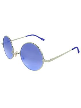 0160a57215 Product Image MLC Retro Round Sunglasses in Black. MLC Eyewear