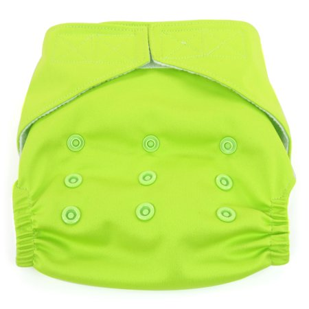 Dandelion Diapers Diaper Covers - Diaper Cover Shell with Hook and Loop- One Size - Kiwifruit