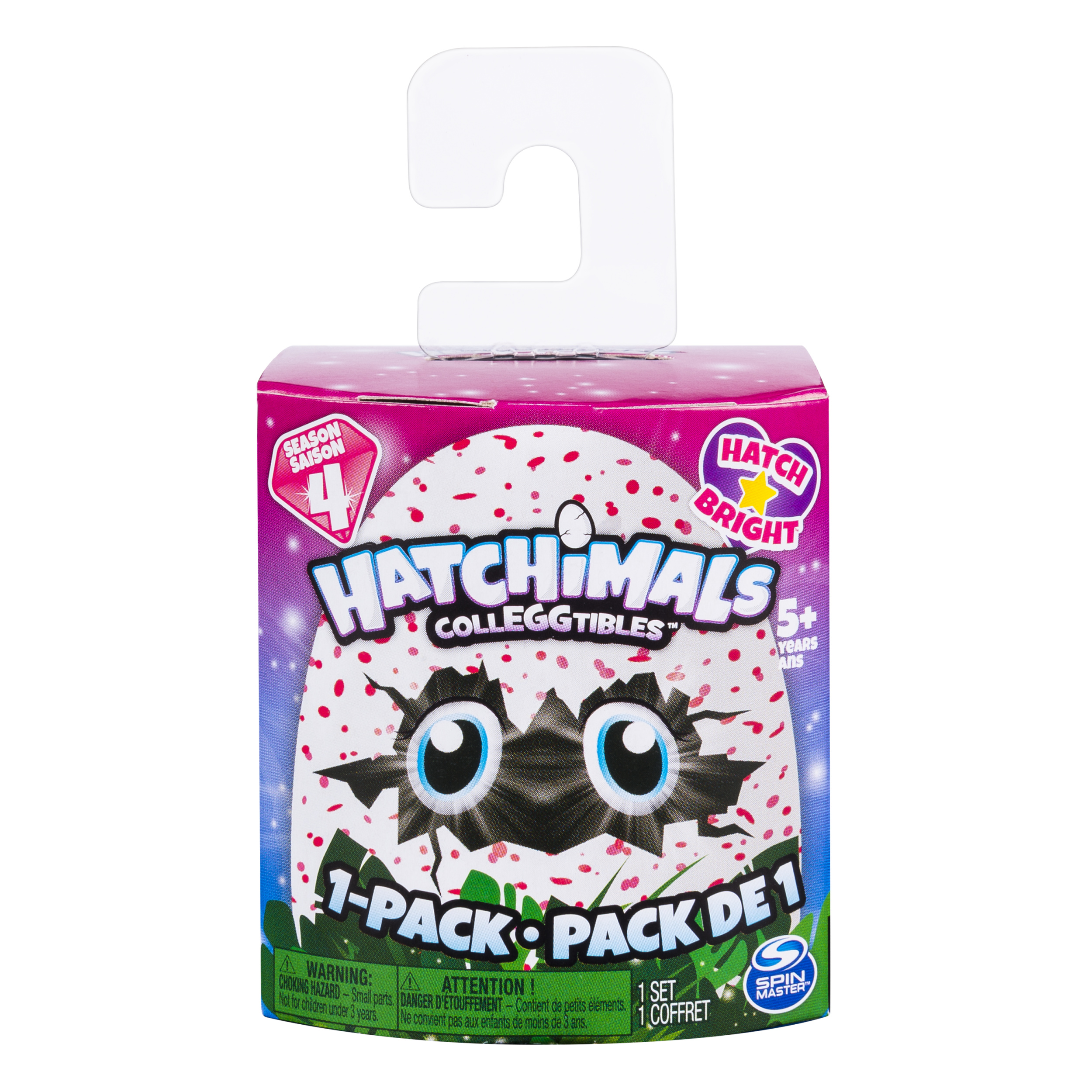 Hatchimals CollEGGtibles ‐ 1 Pack with Season 4 Hatchimals CollEGGtible, for Ages 5 and Up