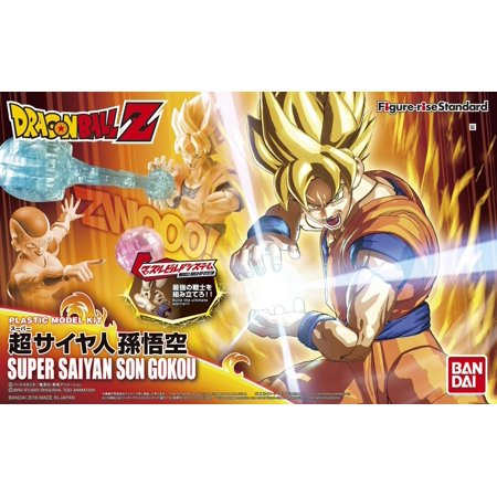 Bandai Hobby Dragon Ball Z Figure-Rise Standard Super Saiyan Son Goku Model (Son Kit)