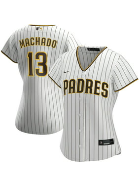 Manny Machado San Diego Padres Nike Women's Home 2020 Replica Player Jersey - White/Brown