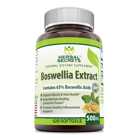 Herbal Secrets Boswellia Extract 500 Mg 120 Capsules