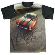Chevy Camaro Ss Mens Sublimation Shirt