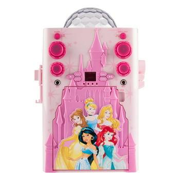 Princess Flashing Disco Ball Karaoke