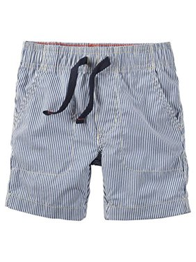 9dbc369d5a Product Image Little Boys' Blue Stripe Pull On Shorts- 5 Kids