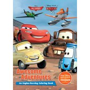 Color It!: Disney Planes & Disney Pixar Cars Awesome Adventures: An Engine-Revving Coloring Book (Paperback)