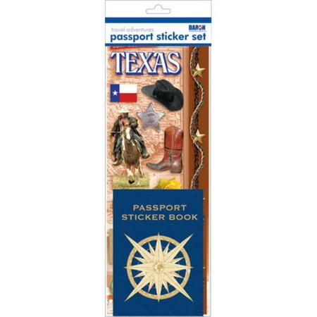 Passport Stickers (Passport Sticker Sets PP59125 Passport or Scrapbooking Sticker)