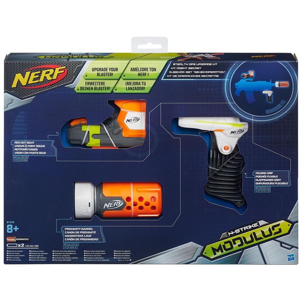 Nerf Module Stealth OPS Upgrade Kit For Blaster Official Hasbro HSBB1535
